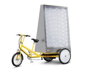 Triciclo pubblicitario