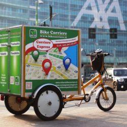 Consegna in bici a Milano